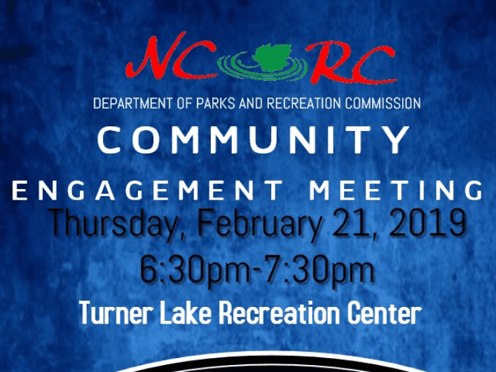 Image of Newton County Recreation Commission Community Meeting Flyer