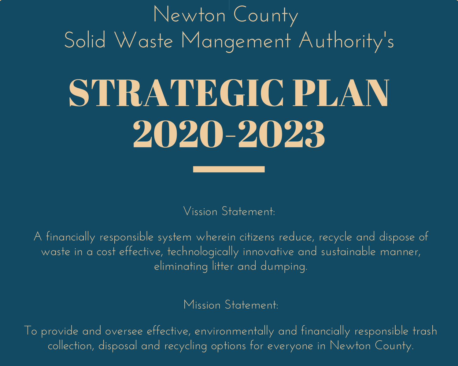 Image of swa strategic plan news