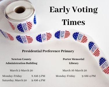 Image of PPP Early Voting Times