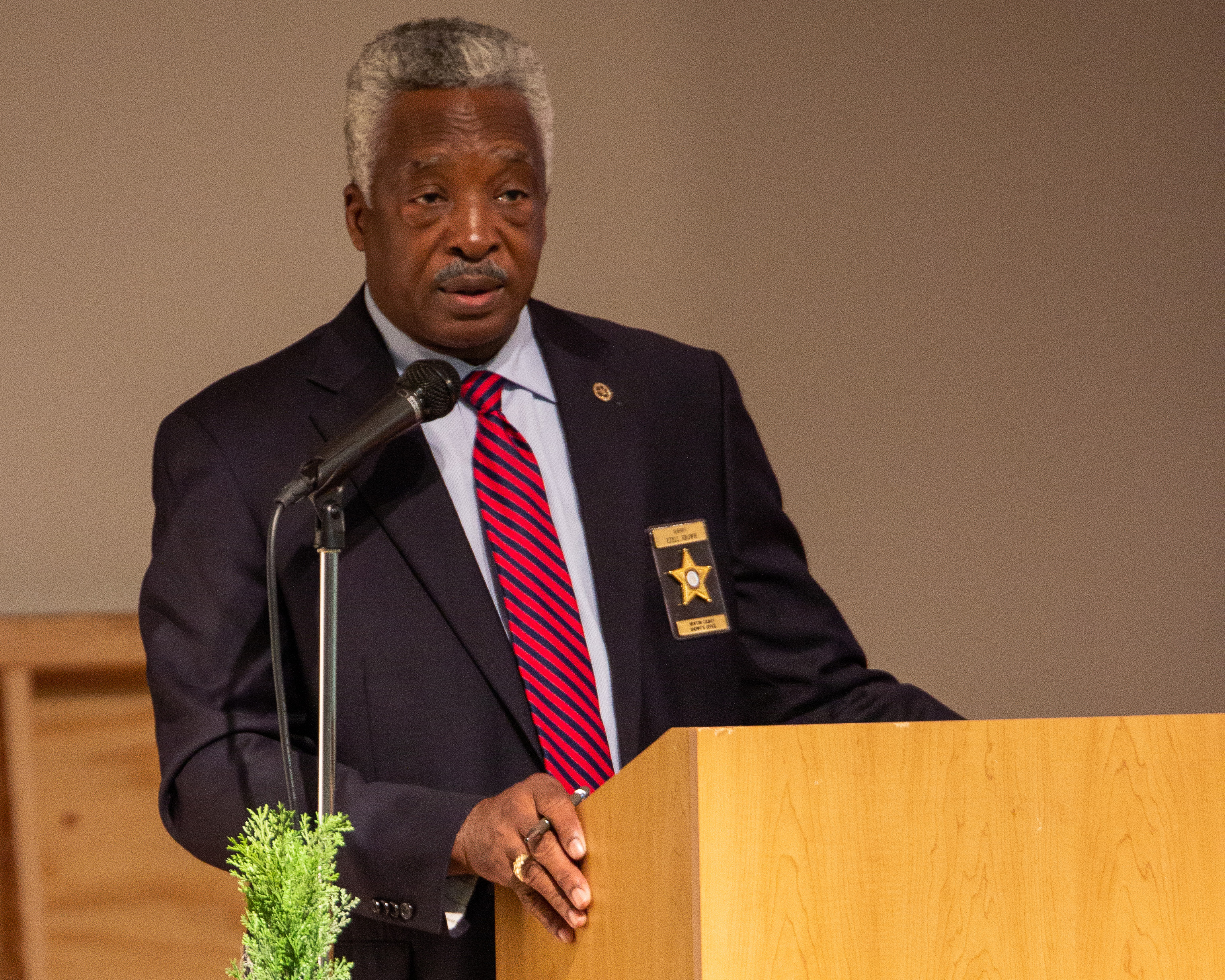 Image of Sheriff Speaks at Leadership Conference