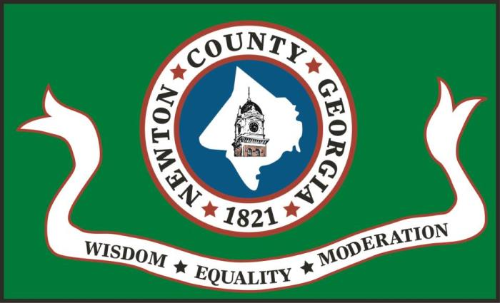 Newton County Georgia 1821 - Wisdom, Equality, Moderation